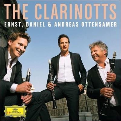 Andreas Ottensamer 더 클라리노츠 클라리넷 삼중주 - 모차르트 로시니 퐁키엘리 멘델스존 (The Clarinotts)