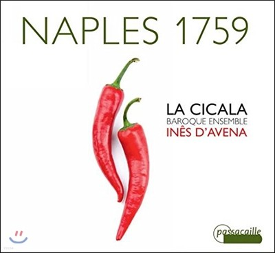 La Cicala / Ines d'Avena 1759년 나폴리 - 바로크 리코더 작품집 (Naples 1759)