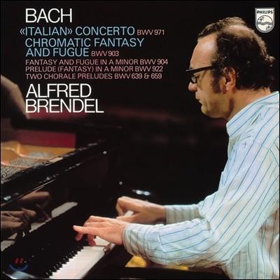Alfred Brendel 바흐: 이탈리아 협주곡, 반음계적 환상곡과 푸가 [LP]