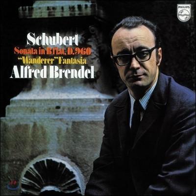 Alfred Brendel 슈베르트: 피아노 소나타 21번, 방랑자 환상곡 - 알프레드 브렌델 [LP]