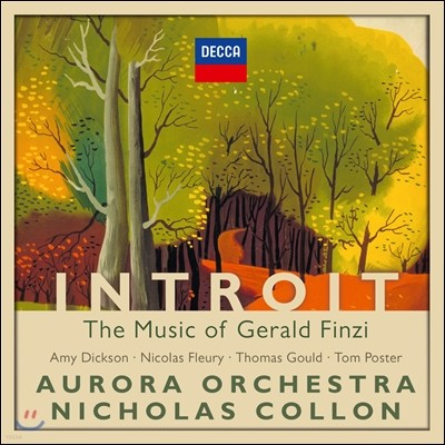 Nicholas Collon / Amy Dickson 제랄드 핀지: 작품집 (Introit - The Music of Gerald Finzi)