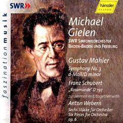 Michael Gielen 말러: 교향곡 3번 / 슈베르트: 로자문제 (Gustav Mahler: Symphony No. 3 in D Minor)