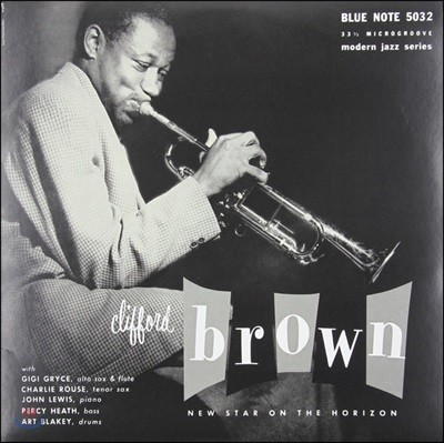 Clifford Brown - New Star On The Horizon [10인치 Vinyl]