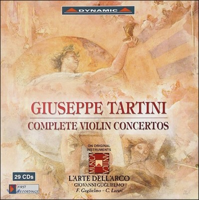 L'Arte dell'Arco 타르티니: 바이올린 협주곡 전집 (Tartini: Complete Violin Concertos)