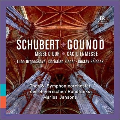 Mariss Jansons 슈베르트: 미사 2번 / 구노: 성 세실 미사 (Schubert: Messe No.2 / Gounod: Caecilienmesse) 마리스 얀손스