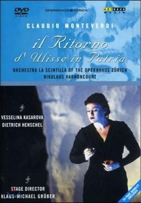 Nikolaus Harnoncourt / Vesselina Kasarova 몬테베르디: 율리시즈의 귀환 (Monteverdi: Il Ritorno d'Ulisse in Patria) 베셀리나 카사로바, 니콜라우스 아르농쿠르