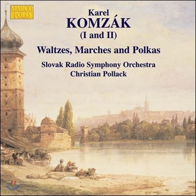 Christian Pollack 카렐 콤자크: 왈츠, 행진곡, 폴카 (Karel Komzak: Waltzes, Marches & Polkas)