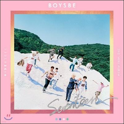 세븐틴 (Seventeen) / Boys Be (2nd Mini Album) (Hide Ver./미개봉)
