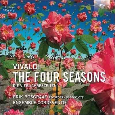 Erik Bosgraaf 비발디: 사계 - 리코더 연주 버전 (Vivaldi: The Four Seasons) [LP]
