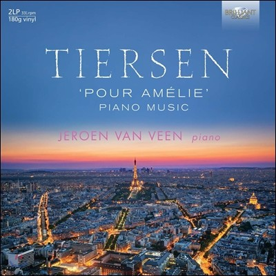 Jeroen van Veen 아멜리에를 위하여 - 얀 티에르상: 영화음악 피아노 작품집 (Pour Amelie - Yann Tiersen: Piano Music) 예로엔 반 빈