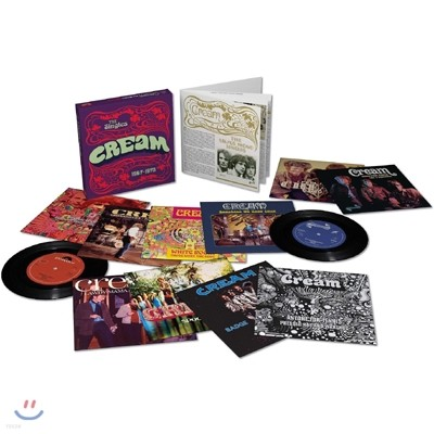 Cream - The Singes 1967-1970