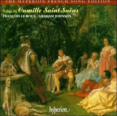 Francois Le Roux 생상스: 가곡집 (Songs by Camille Saint-Saens)