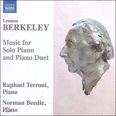 Raphael Terroni / Norman Beedie 레녹스 버클리: 피아노 독주와 이중주 작품 (Lennox Berkeley: Music for Solo Piano and Piano Duet)
