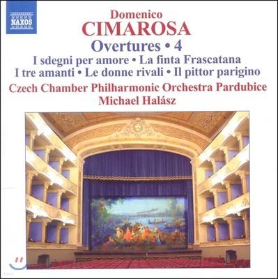 Michael Halasz 도메니코 치마로사: 서곡 4집 - 가짜 귀족, 파리의 화가 (Cimarosa: Overtures 4 - La Finta Frascatana, Il Pittor Parigino)