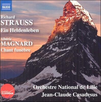 Jean-Claude Casadesus 슈트라우스: 영웅의 생애 / 알베릭 마냐르: 만가 (R. Strauss: Ein Heldenleben / Alberic Magnard: Chant Funebre)