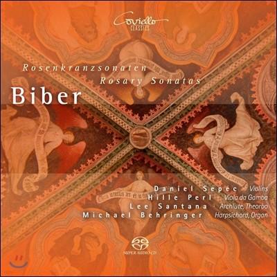 Daniel Sepec / Hille Perl 하인리히 이그나츠 비버: 미스터리 소나타 [로자리오 소나타] (Heinrich Biber: Rosary Sonatas)