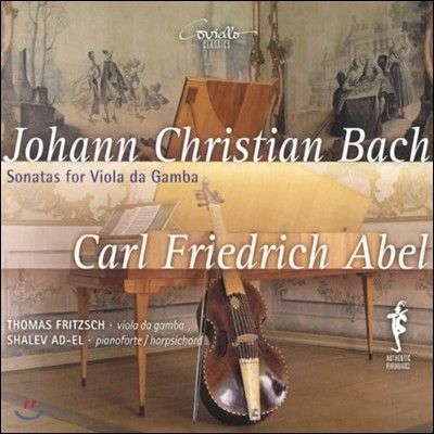 Thomas Fritzsch J.C. 바흐 / C.F. 아벨: 비올라 다 감바 소나타 (Johann Christian Bach / Carl Friedrich Abel: Sonatas for Viola da Gamba)