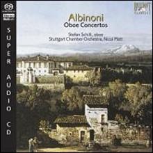 알비노니 : 오보에 협주곡 (SACD)