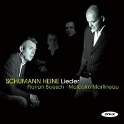 슈만 : 하이네 시에 붙인 가곡 - 리더크라이스 & 미르테의 꽃 (Schumann : Liederkreis, Op.24) - Florian Boesch