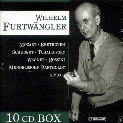 Wilhelm Furtwangler 빌헬름 푸르트뱅글러 - 차이코프스키, 모차르트, 바그너 10CD