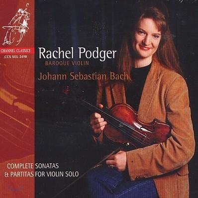 Rachel Podger 바흐: 무반주 바이올린 파르티타와 소나타 (Bach: Sonatas & Partitas for solo violin, BWV1001-1006) 레이첼 포저