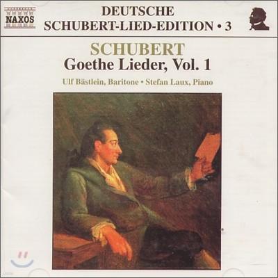 Ulf Bastlein 슈베르트: 괴테 가곡 1집 (Goethe Vol. 1)