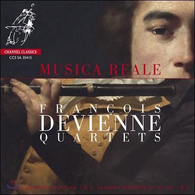 Musica Reale 프랑수아 드비엔느: 플루트, 바순 사중주 (Francois Devienne: Quartets)