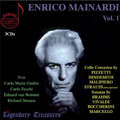 엔리코 마이나르디의 예술 1집 (Enrico Mainardi Legendary Treasures Vol.1)
