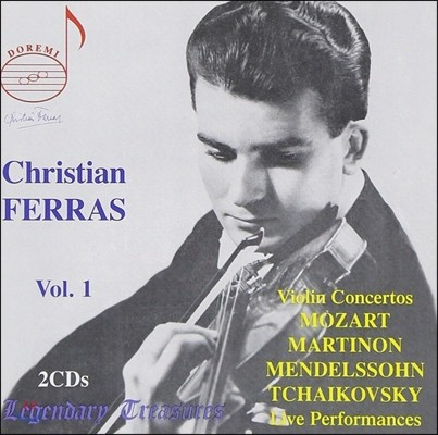 크리스티안 페라스의 예술 1집 (Christian Ferras Legendary Treasures Vol.1)