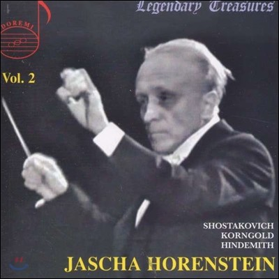 야샤 호렌슈타인의 예술 2집 (Jascha Horenstein Legendary Treasures Vol.2)