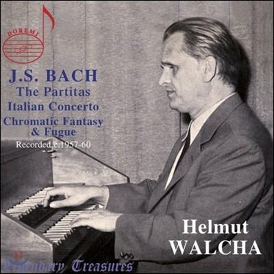 Helmut Walcha 헬무트 발햐 1957-60년 바흐 하프시코드 녹음 (Bach: Works for Harpsichord)