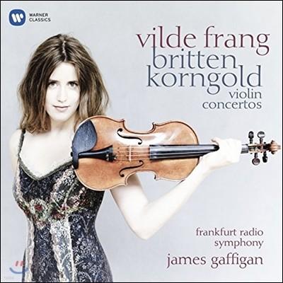 Vilde Frang 브리튼 / 코른골트: 바이올린 협주곡 - 빌데 프랑 (Britten & Korngold: Violin Concertos)