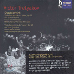 Shostakovich : Violin Concerto No.1ㆍViolin Concerto No.2 : Victor Tretyakov