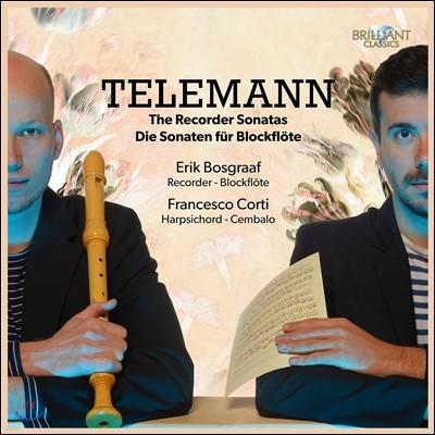 Erik Bosgraaf 텔레만: 리코더 소나타 (Telemann: Recorder Sonatas) 에릭 보스그라프