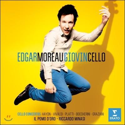 Edgar Moreau 에드가 모로 첼로 협주곡 - 하이든 / 보케리니 / 비발디 (Giovincello)