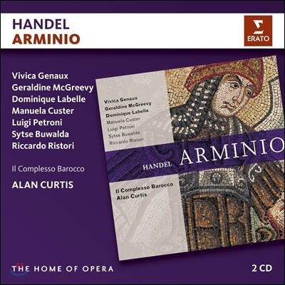 Alan Curtis 헨델: 오페라 '아르미니오' (Handel: Opera 'Arminio) 일 콤플레소 바로코, 알란 커티스