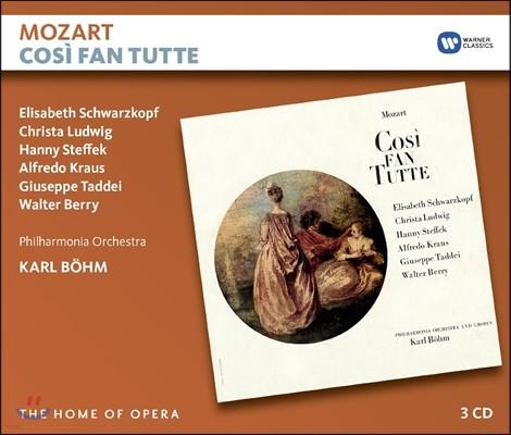Elisabeth Schwarzkopf / Karl Bohm 모차르트: 코지 판 투테 (Mozart: Cosi Fan Tutte) 엘리자베스 슈바르츠코프, 칼 뵘