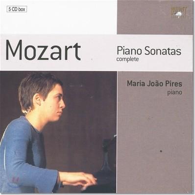 모차르트 : 피아노 소나타 전집 - 마리아 호아오 피레스