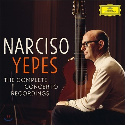 Narciso Yepes 나르시소 예페스 기타 협주곡 녹음 전집 (The Complete Concerto Recordings)