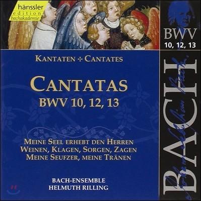 Helmuth Rilling 바흐: 칸타타 BWV10, 12, 13 (Bach: Cantatas)