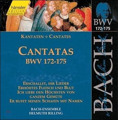 Helmuth Rilling 바흐: 칸타타 BWV172-175 (Bach: Cantatas 'Erschallet, Ihr Lieder')