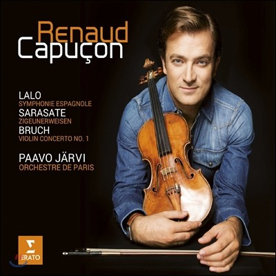 Renaud Capucon 브루흐: 바이올린 협주곡 1번 / 랄로: 스페인 교향곡 / 사라사테: 치고이네르바이젠 (Bruch: Violin Concerto Op.26) 르노 카퓌송, 파보 예르비