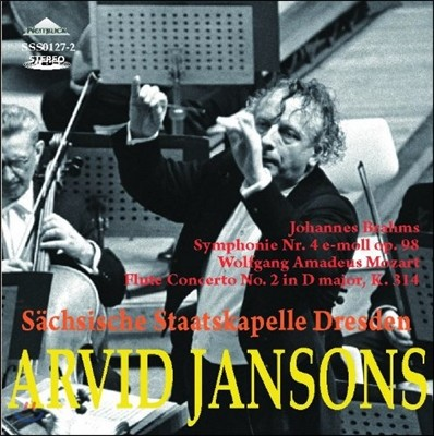 Arvid Jansons 브람스: 교향곡 4번 / 모차르트: 플루트 협주곡 2번 - 아르비드 얀손스 (Brahms: Symphony Op.98 / Mozart: Flute Concerto K.314)