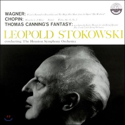 Leopold Stokowski 바그너 / 쇼팽 / 토마스 캐닝: 관현악 모음집 - 레오폴트 스토코프스키 (Wagner / Chopin / Thomas Canning's Fantasy)