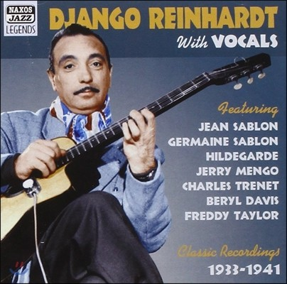 Django Reinhardt With Vocals (Original Recordings 1933-1941)