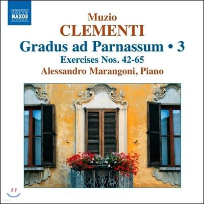 Alessandro Marangoni 클레멘티: 그라두스 아드 파르나숨 3집 (Muzio Clementi: Gradus ad Parnassum 3 - Exercises Nos.42-65)