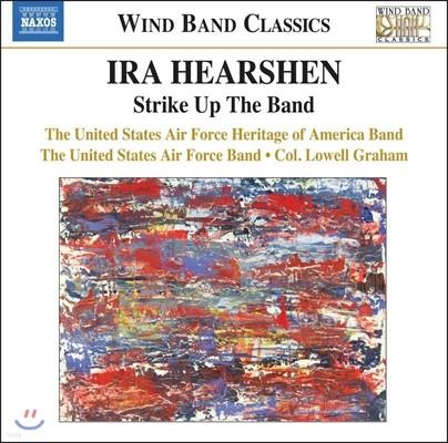 Lowell Graham 히어션이 편곡한 거쉰, 수자, 벌린 관악 작품집 (Hearshen: Strike Up The Band - Gershwin / Sousa / Irving Berlin)