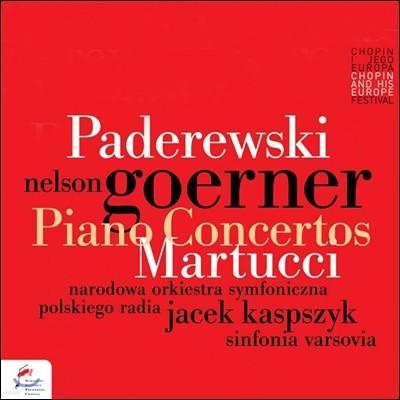 Nelson Goerner 파데레프스키: 피아노 협주곡 / 마르투치: 피아노 협주곡 2번 - 넬슨 괴르너 (Paderewski / Martucci: Piano Concertos)