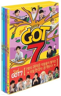 갓세븐 (GOT7) 리얼 갓세븐 시즌 3 DVD