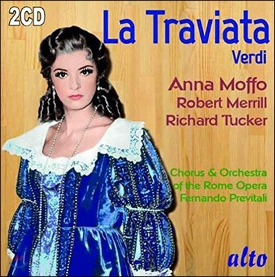 Anna Moffo / Richard Tucker 베르디: 라 트라비아타 - 안나 모포 / 리차드 터커 (Verdi: La Traviata)